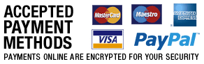 Payments online are encrypted for your security