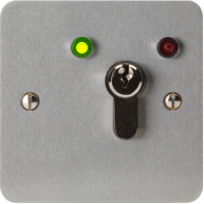 DAA-0669N-1L Euro Profile Maintained Keyswitch With LED