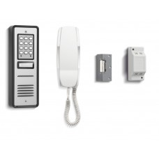 Bell Systems CS106-1, 1 Way Audio Entry Kit With Keypad
