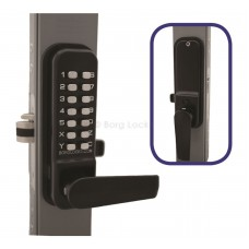 Borg BL4402  Wooden & Timber Gate Lock With Ali- Latch