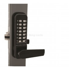 Borg BL4442 Back To Back Wooden & Timber Gate Lock With 28mm Ali Latch