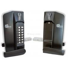 Borg BL3400DKO Metal Gate Lock With Key Override