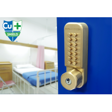 BORG BL2701 CU ECP Antimicrobial Lock With Key Override