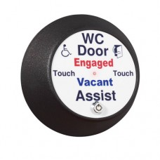 RWCASSK Round Antimicrobial Door Assist Toilet Sensor