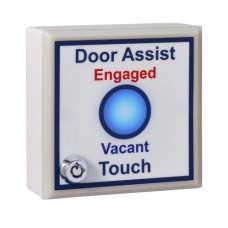 SGWCASSK Single Gang Antimicrobial Door Assist Toilet Sensor