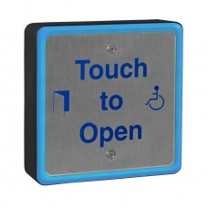 Square Illuminated 316 Marine Grade Stainless Touch To Open Sensor