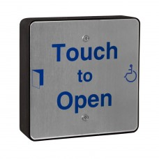 Square 316 Marine Grade Stainless Touch To Open Sensor
