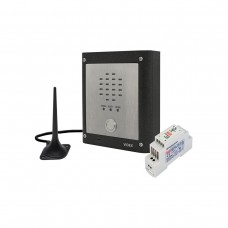 Videx GSMVRK-1S Vandal Resistant 1 Way Audio Kit